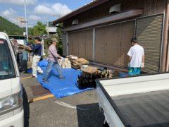 奉仕作業と廃品回収